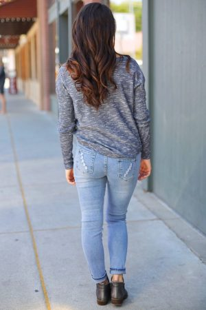 trendy maternity jeans