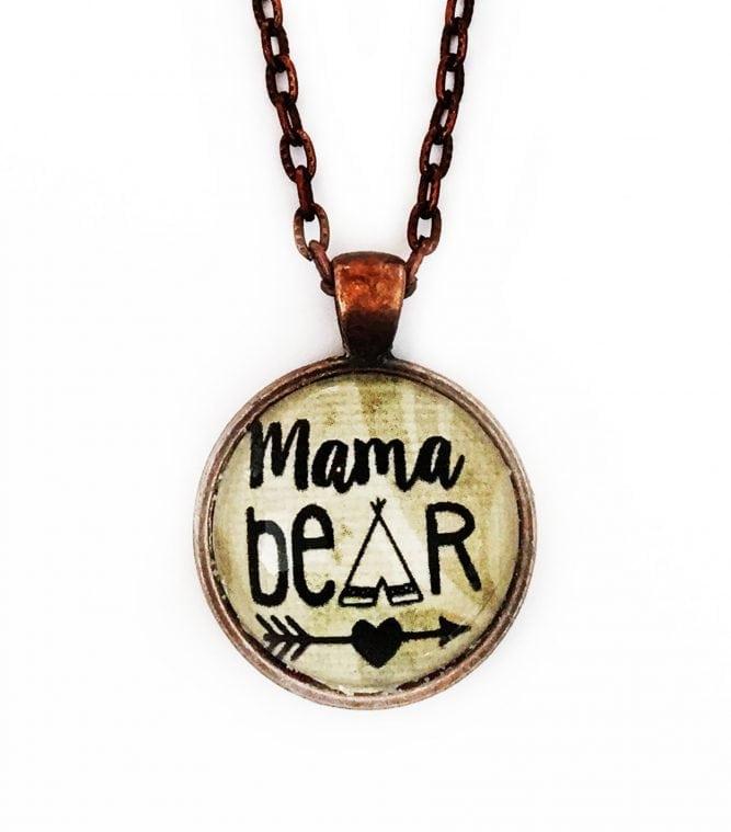 momma bear necklace