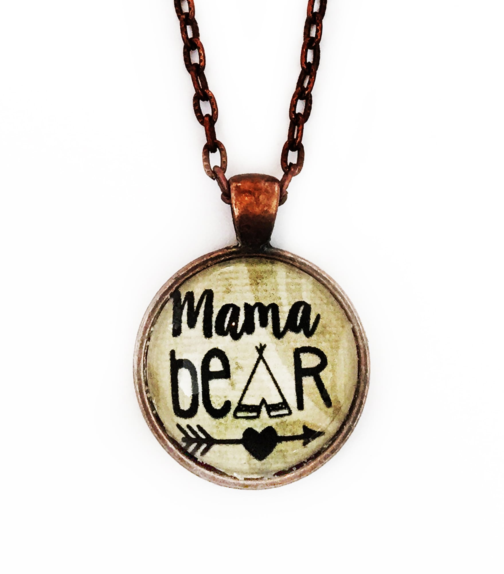 momma bear necklace