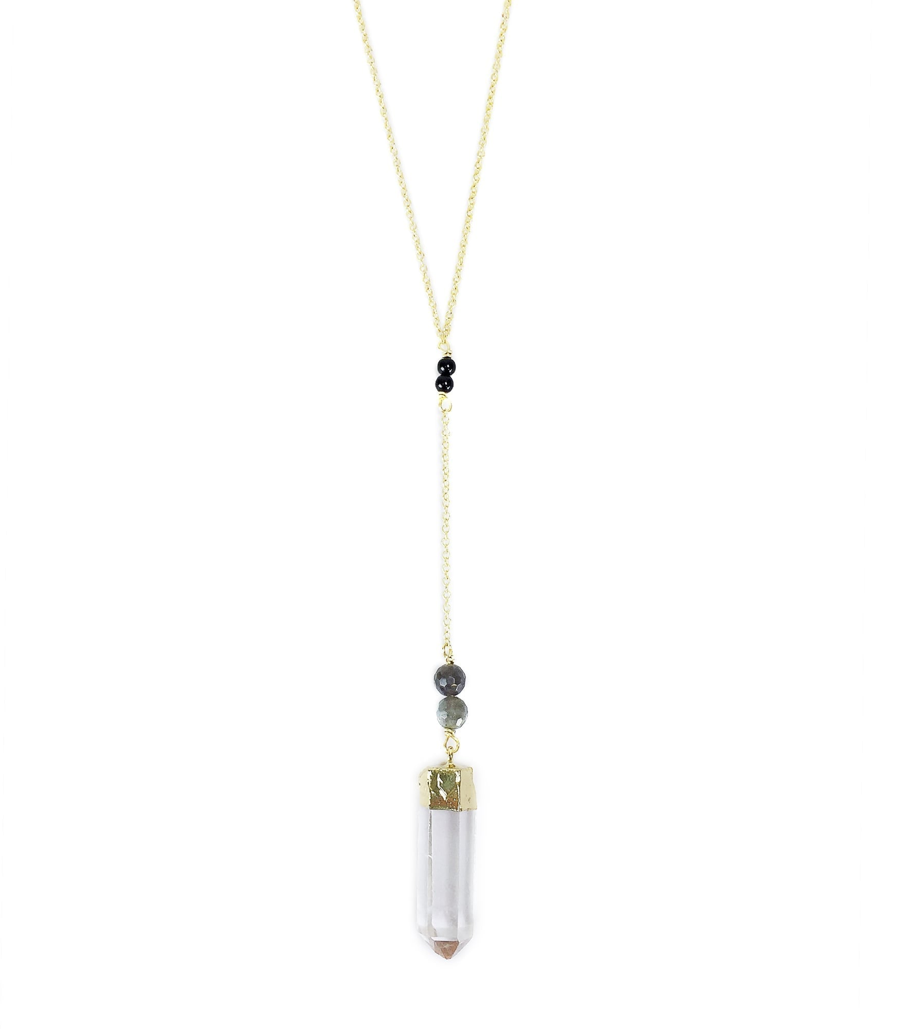 Quartz Pregnancy Necklace