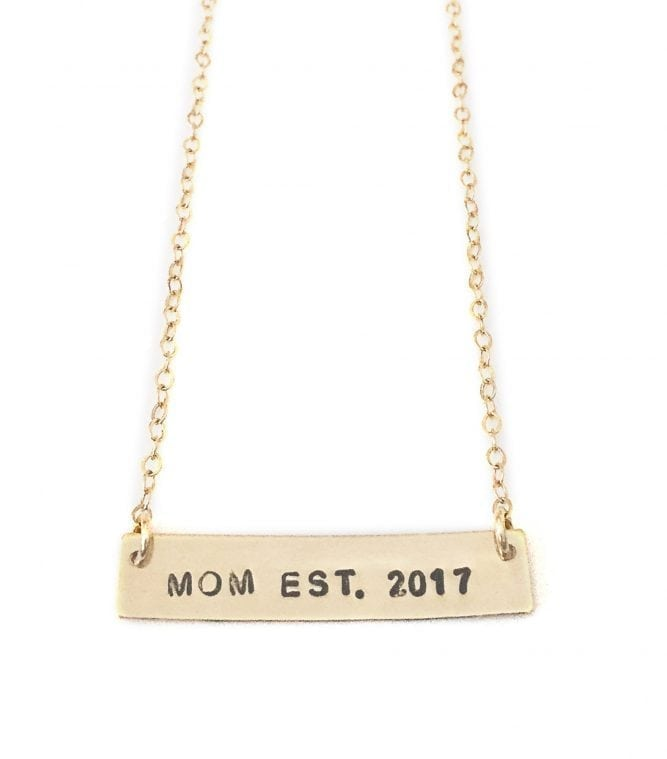 New Mommy Necklace