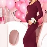 Fitted Maternity Gown