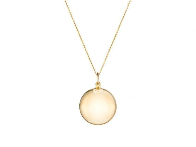 Harmony Chiming Pregnancy Necklace - Gold - Sexy Mama Maternity
