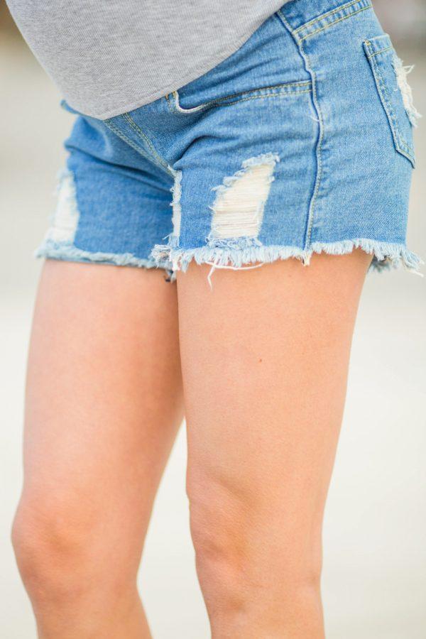 Maternity Shorts - Cool Mom Full-Panel Maternity Shorts