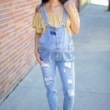 denim maternity overalls