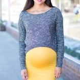 cute maternity skirt