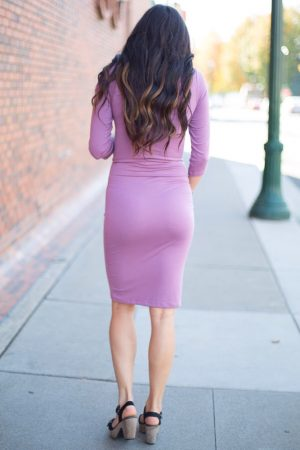 basic maternity dress