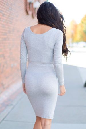 maternity cowl dress
