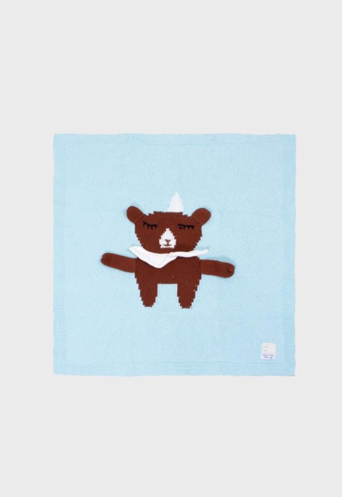party bear baby blankie