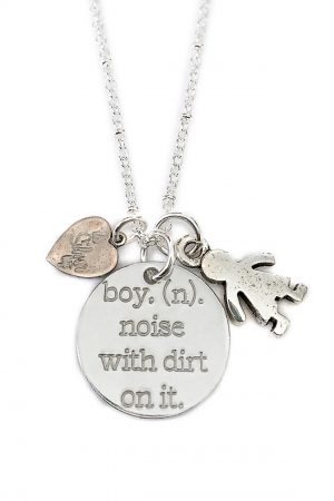 Boy Noun Necklace