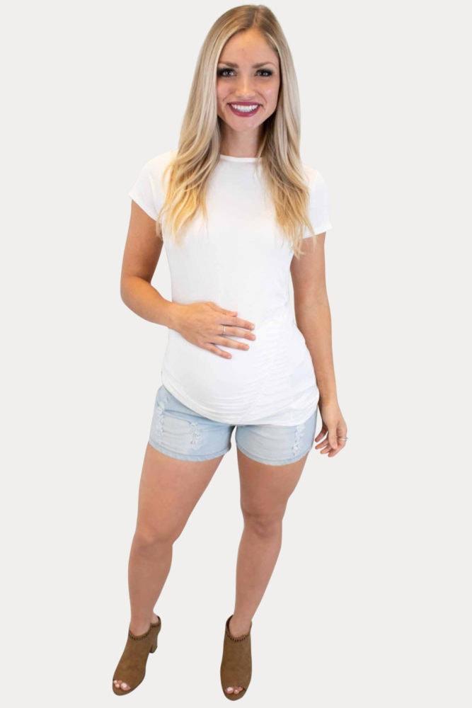 pregnancy shorts