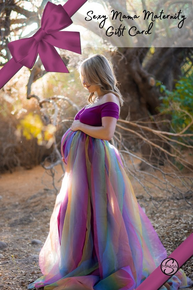 maternity gown gift card
