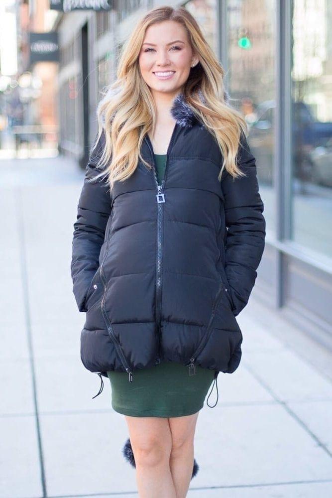 maternity jacket