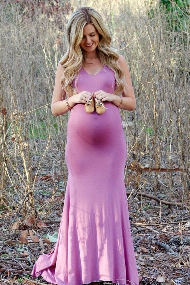 gender reveal gown
