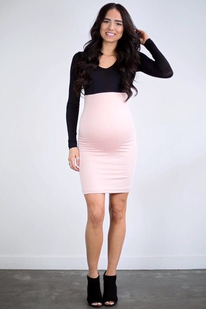 fun maternity dress