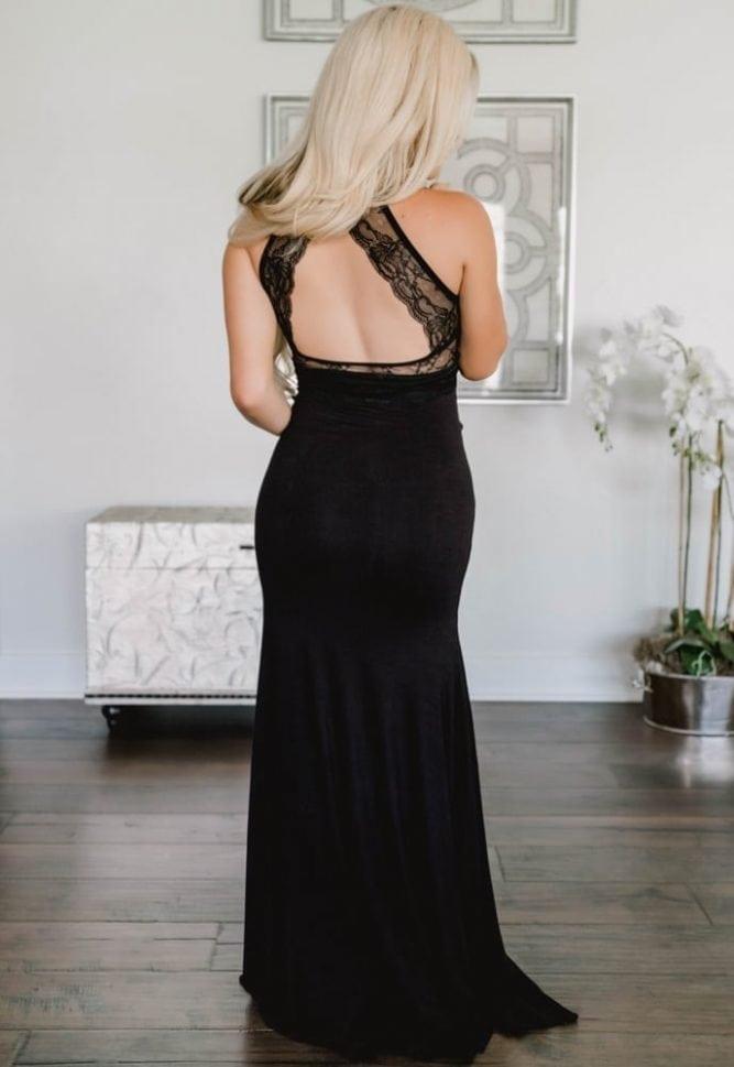 maternity evening dress