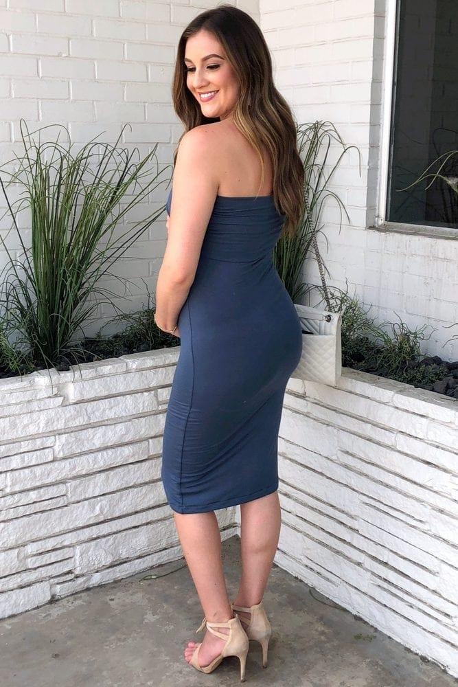 f44bbc94a1 Sweetheart Tube Top Maternity Dress - Sexy Mama Maternity