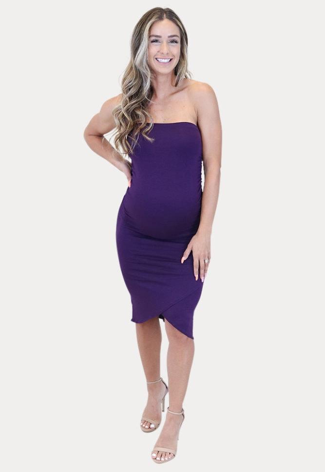 mini maternity dress