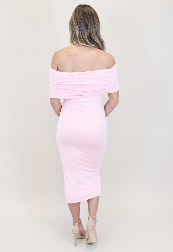 fold over maternity dress