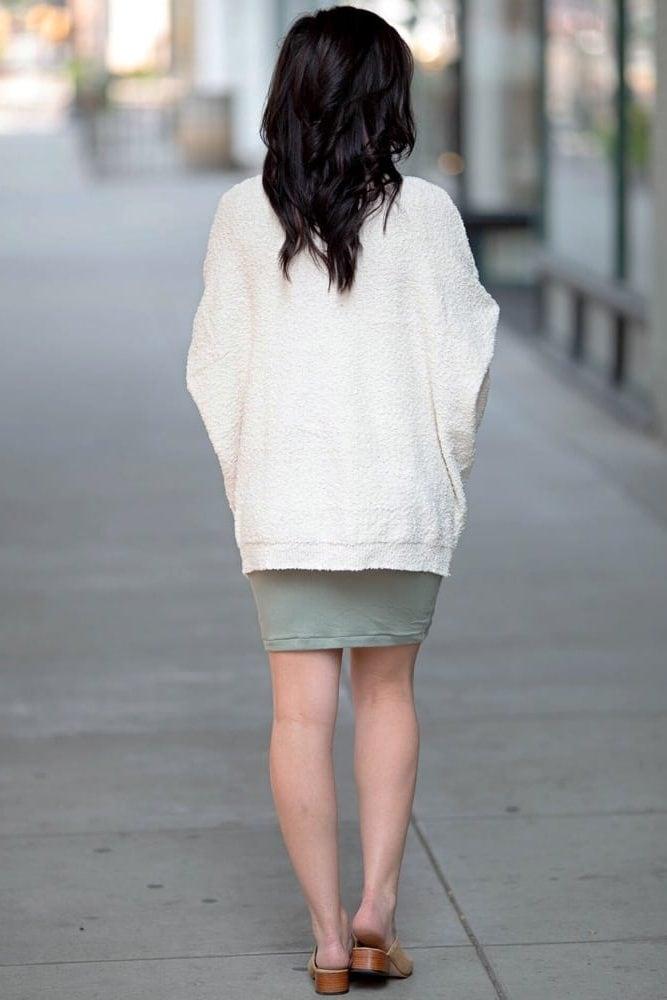 maternity knit cardigan