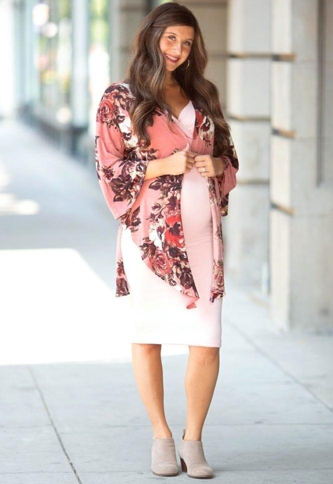 adorable maternity dress