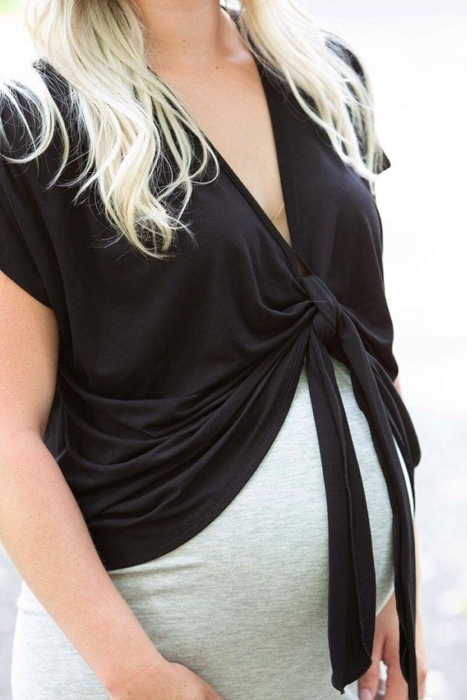 pregnancy crop top
