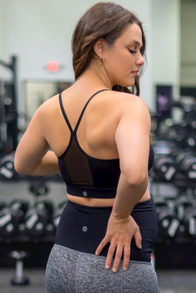 nursing sports bra