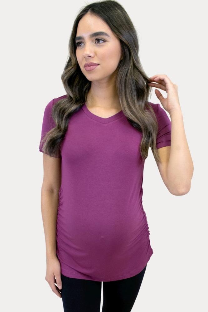 maternity activewear tee