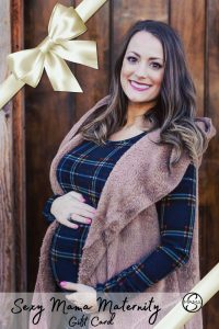 gift card for maternity clothes
