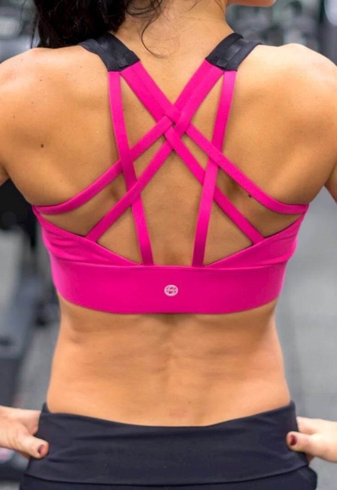 breast feeding sports bra