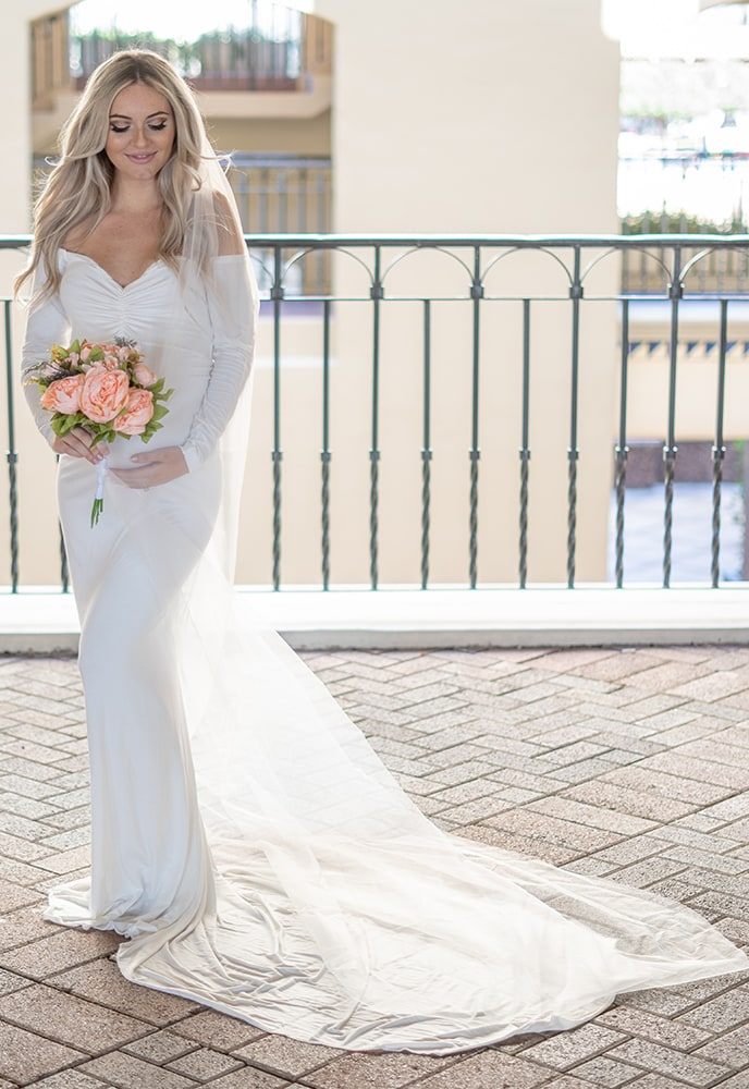 b1bdd42d6 Maternity Wedding Dress with Train - Sexy Mama Maternity