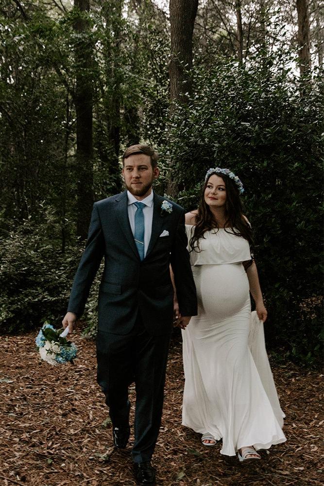 maternity wedding dress with detachable train