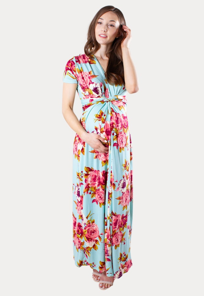 country baby shower dress