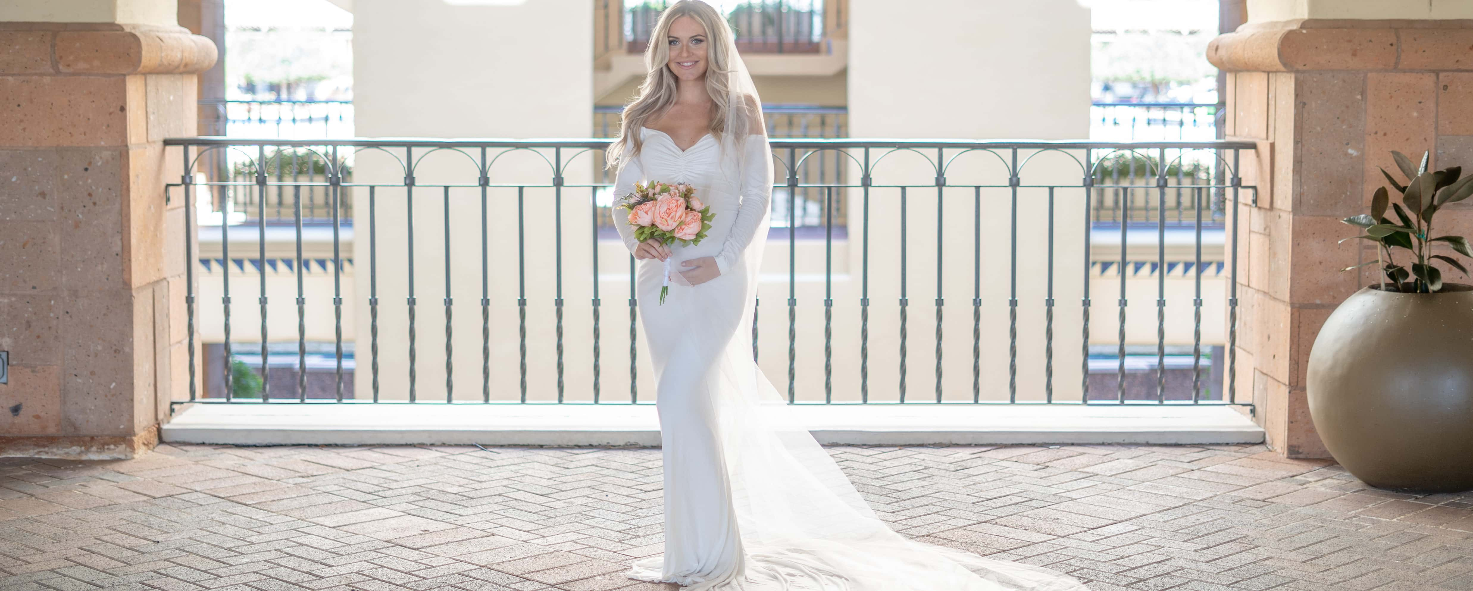 perfect maternity wedding dress