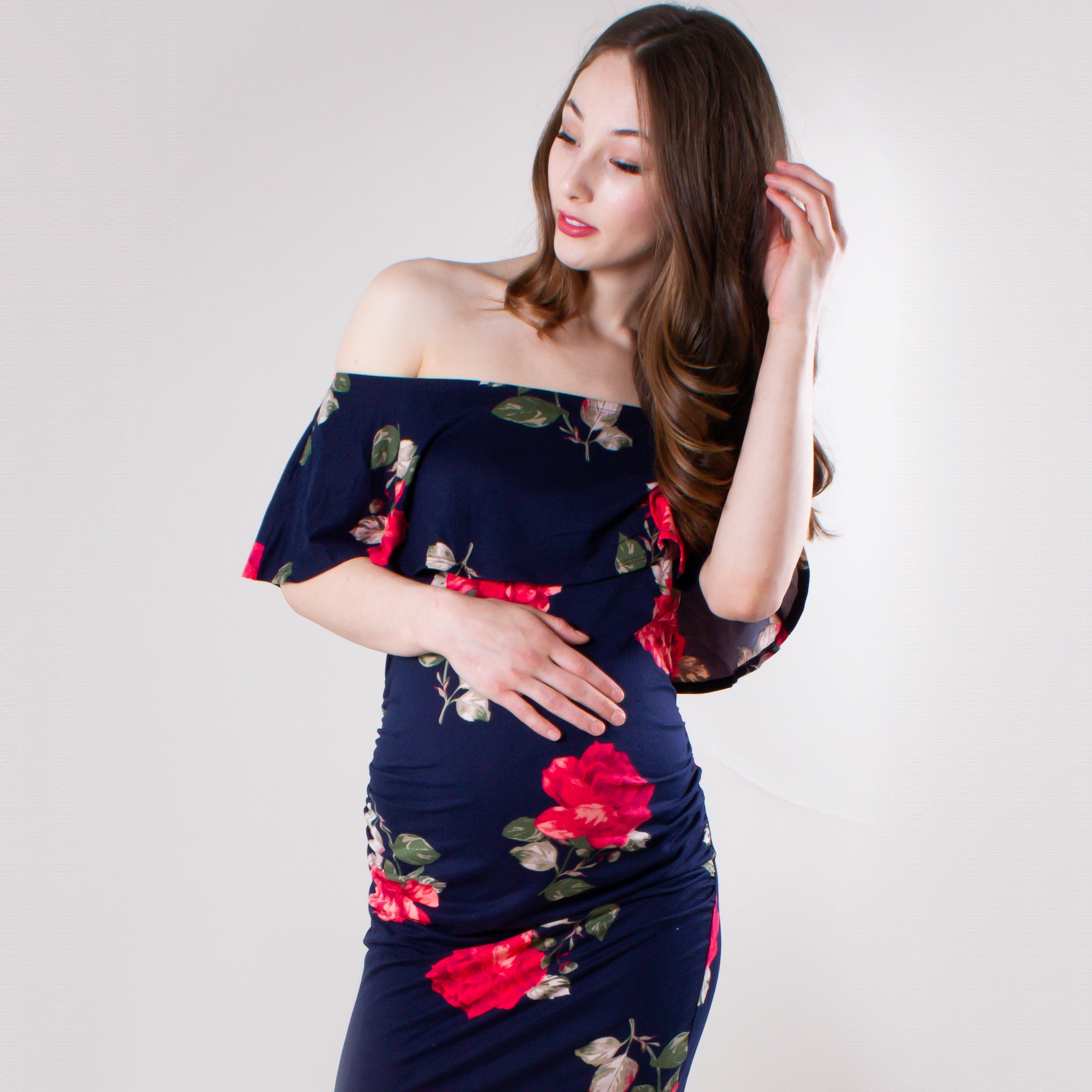 1b1d4a8e3bf Striped and Floral Maternity Dresses - Sexy Mama Maternity