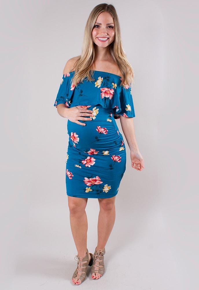 floral baby shower dresses