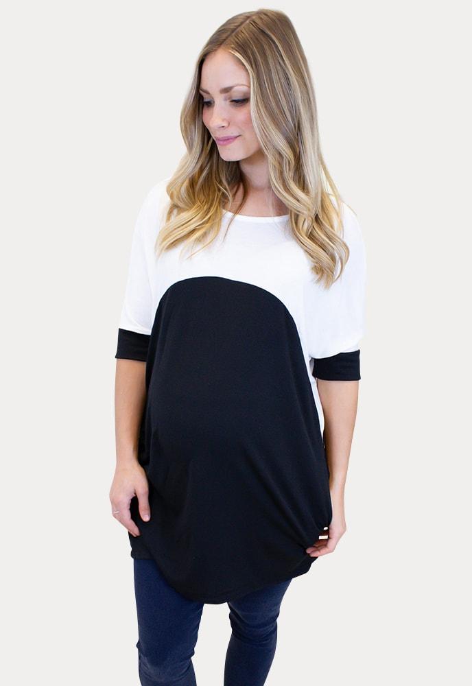 Short Sleeve Maternity Tee Sexy Mama Maternity