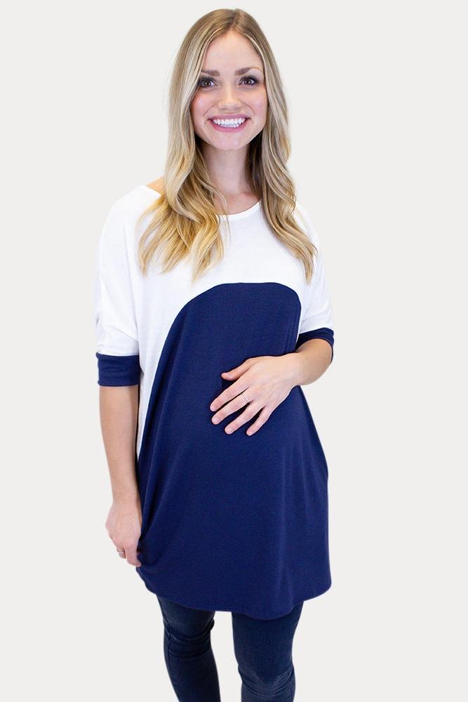 simple maternity tee