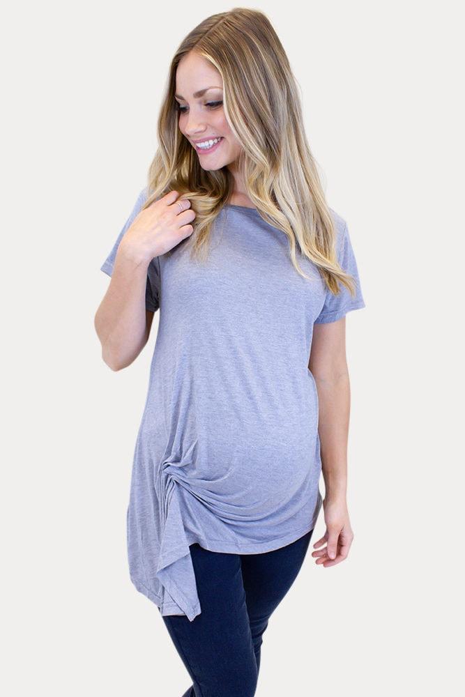 casual pregnancy top
