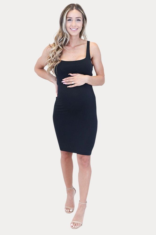 tank top maternity dress