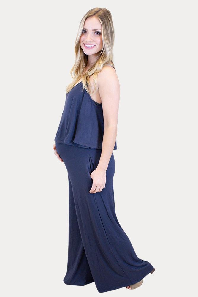 off the shoulder maternity jumper