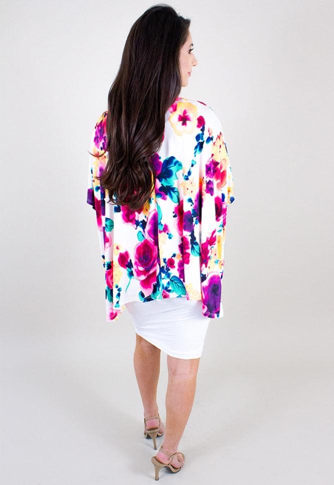 floral kimono for pregnancy
