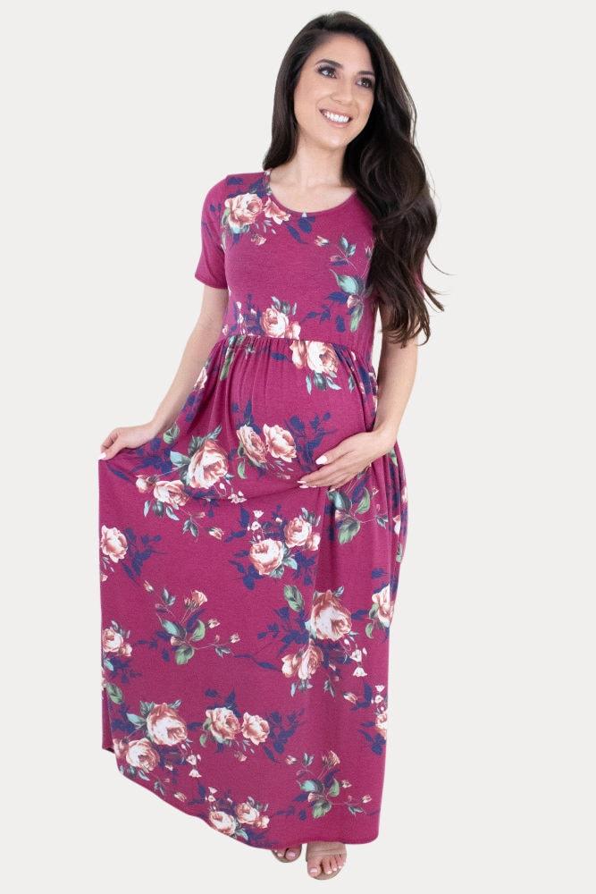 pregnancy maxi dress