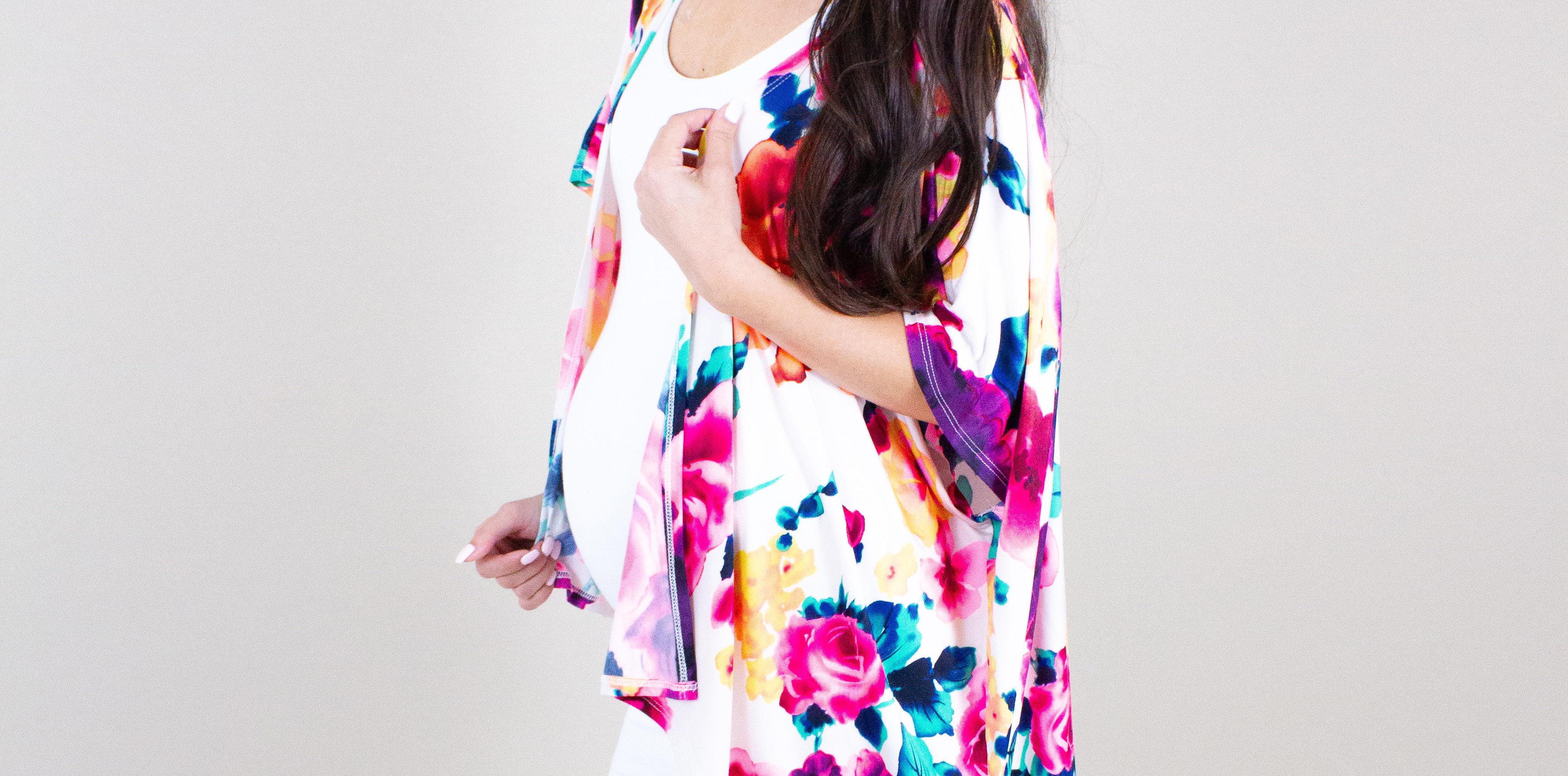 maternity kimonos