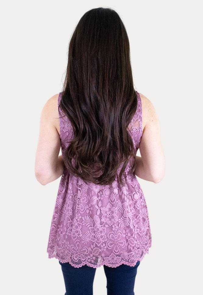 lace pregnancy top