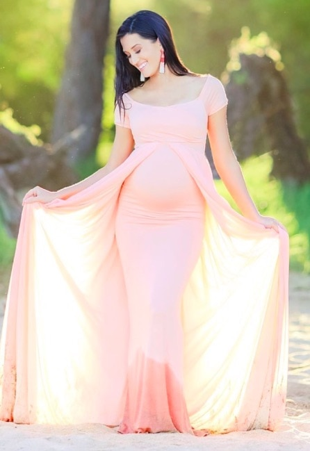 maternity photoshoot gowns