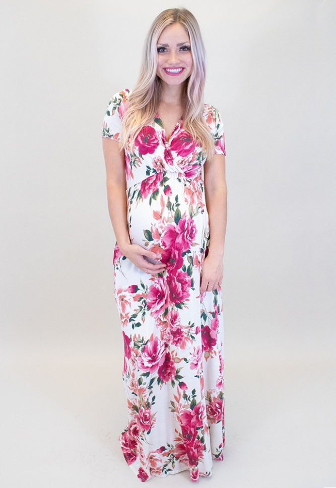 baby shower maxi