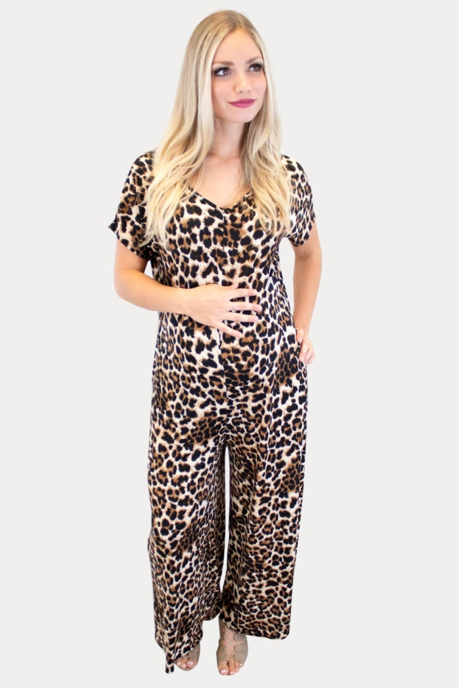 Spring maternity jumpsuits