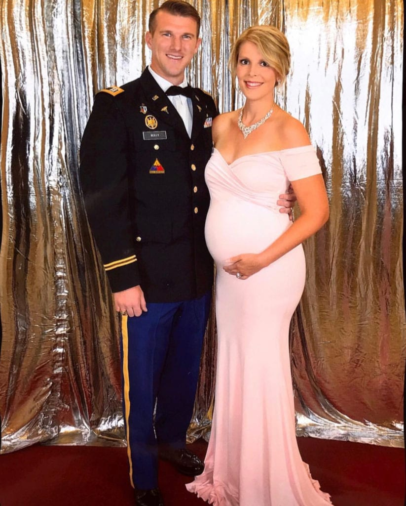 military maternity gown