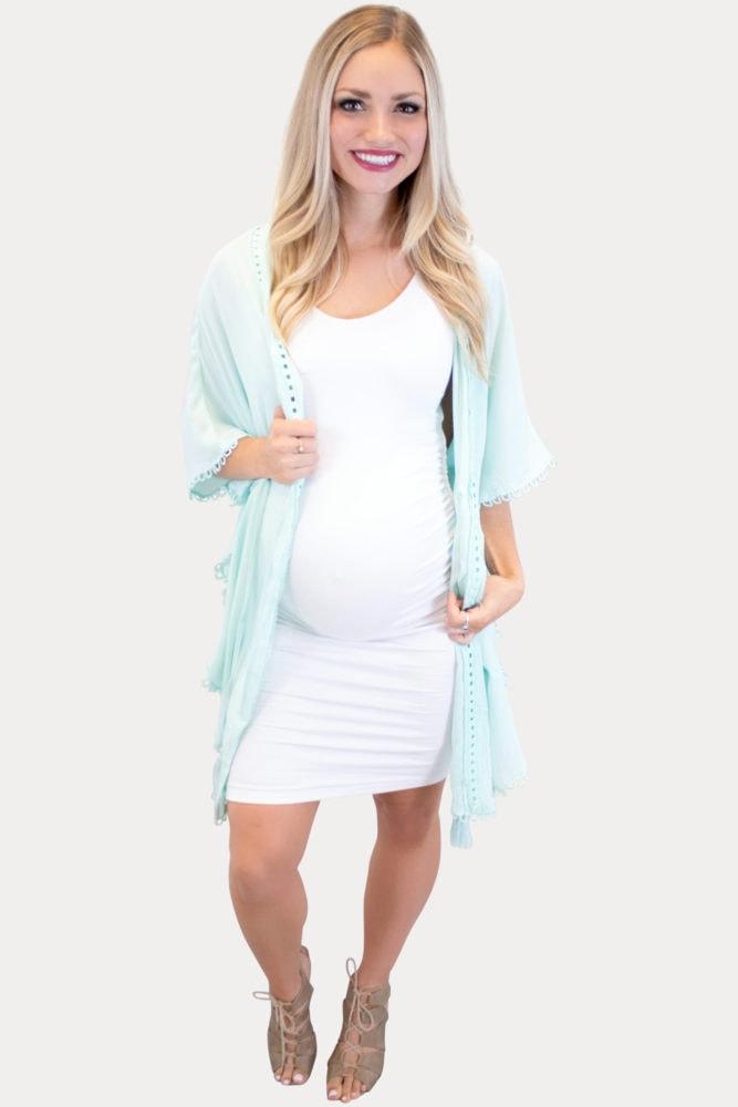 mint maternity kimono